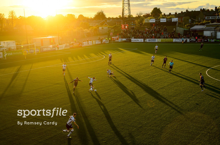 20 May 2019; Seán Gannon of Dundalk during the SSE Airtricity League Premier Division match between Dundalk and Bohemians at Oriel Park in Dundalk, Louth. Photo by Ramsey Cardy/Sportsfile