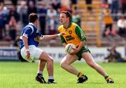 22 June 1997; Adrian Sweeney, Donegal. Donegal v Cavan, Ulster Senior Football Championship, Clones, Co. Monaghan. Picture credit; David Maher / SPORTSFILE.