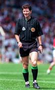 16 June 1996; Referee Brian White during the Munster GAA Hurling Senior Championship Semi-Final match between Limerick and Clare at Gaelic Grounds in Limerick. Photo by Brendan Moran/Sportsfile