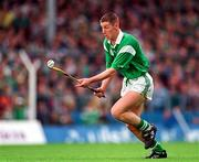 Ciaran Carey Limerick, ( V Tipperary, Munster Hurling  Championship,  Thurles, 15/6/97.) Photograph Ray McManus SPORTSFILE.