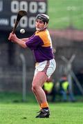 23 March 1997; Eamonn Scallan of Wexford during the National Hurling League Division 1 match between Offaly and Wexford at St. Brendan's Park in Birr, Offaly. Photo by David Maher/Sportsfile