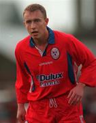 26 October 1998; Dave Campbell of Shelbourne during the Harp Lager National League Premier Division match between Shelbourne and Bohemians at Tolka Park in Dublin. Photo by Ray McManus/Sportsfile