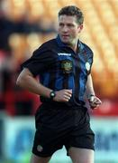 26 October 1998; Referee Paul McKeown during the Harp Lager National League Premier Division match between Shelbourne and Bohemians at Tolka Park in Dublin. Photo by Ray McManus/Sportsfile