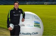 4 November 2017; In attendance at the GAA Healthy Clubs Recognition Event, supported by Irish Life, which saw 58 GAA clubs recognised as the first official 'Healthy Clubs' on the island of Ireland is Seán Cavanagh, Healthy Clubs Ambassador and former Tyrone footballer. The GAA's Healthy Clubs Project hopes to transform GAA clubs nationally into hubs for community health and wellbeing. As part of the programme, each club is trained to deliver advice and information programmes on a variety of different topics including, physical activity; emotional wellbeing; healthy eating; community development, to name but a few. For more information, visit: www.gaa.ie/community. Croke Park, Dublin. Photo by Piaras Ó Mídheach/Sportsfile