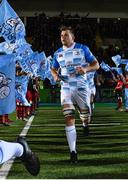 3 November 2017; Jordi Murphy of Leinster ahead of the Guinness PRO14 Round 8 match between Glasgow Warriors and Leinster at Scotstoun in Glasgow, Scotland. Photo by Ramsey Cardy/Sportsfile