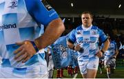 3 November 2017; Sean Cronin of Leinster ahead of the Guinness PRO14 Round 8 match between Glasgow Warriors and Leinster at Scotstoun in Glasgow, Scotland. Photo by Ramsey Cardy/Sportsfile