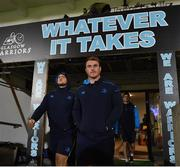 3 November 2017; Peter Dooley of Leinster ahead of the Guinness PRO14 Round 8 match between Glasgow Warriors and Leinster at Scotstoun in Glasgow, Scotland. Photo by Ramsey Cardy/Sportsfile
