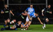 3 November 2017; Jordan Larmour of Leinster during the Guinness PRO14 Round 8 match between Glasgow Warriors and Leinster at Scotstoun in Glasgow, Scotland. Photo by Ramsey Cardy/Sportsfile