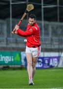5 November 2017; Shane Stapleton of Cuala warms up prior to the AIB Leinster GAA Hurling Senior Club Championship Quarter-Final match between Cuala and Dicksboro at Parnell Park in Dublin. Photo by Brendan Moran/Sportsfile