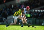 5 November 2017; Gary Norberg of Blackrock in action against Adrian Breen of Na Piarsaigh during the AIB Munster GAA Hurling Senior Club Championship Semi-Final match between Na Piarsaigh and Blackrock at the Gaelic Grounds in Limerick. Photo by Daire Brennan/Sportsfile