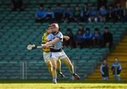 5 November 2017; Adrian Breen of Na Piarsaigh in action against Gary Norberg of Blackrock during the AIB Munster GAA Hurling Senior Club Championship Semi-Final match between Na Piarsaigh and Blackrock at the Gaelic Grounds in Limerick. Photo by Daire Brennan/Sportsfile