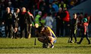 5 November 2017; Cathal Malone of Sixmilebridge dejected after the AIB Munster GAA Hurling Senior Club Championship Semi-Final match between Ballygunner and Sixmilebridge at Walsh Park in Waterford. Photo by Piaras Ó Mídheach/Sportsfile
