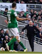 5 November 2017; Cork City manager John Caulfield during the Irish Daily Mail FAI Senior Cup Final match between Cork City and Dundalk at the Aviva Stadium in Dublin. Photo by Ramsey Cardy/Sportsfile