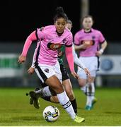 4 November 2017; Rianna Jarrett of Wexford Youths during the Continental Tyres Women's National League match between Wexford Youths and Peamount United at Ferrycarrig Park in Wexford. Photo by Matt Browne/Sportsfile