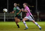 4 November 2017; Claire O'Riordan of Wexford Youths in action against Peamount United during the Continental Tyres Women's National League match between Wexford Youths and Peamount United at Ferrycarrig Park in Wexford. Photo by Matt Browne/Sportsfile