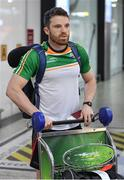 6 November 2017; Chris Barrett as the 2017 Ireland International Rules Squad arrive in Melbourne at Melbourne Airport, in Australia. Photo by Ray McManus/Sportsfile