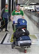 6 November 2017; Brendan Harrison as the 2017 Ireland International Rules Squad arrive in Melbourne at Melbourne Airport, in Australia. Photo by Ray McManus/Sportsfile