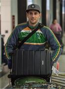 6 November 2017; Paul Geaney as the 2017 Ireland International Rules Squad arrive in Melbourne at Melbourne Airport, in Australia. Photo by Ray McManus/Sportsfile