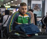 6 November 2017; Peter Crowley as the 2017 Ireland International Rules Squad arrive in Melbourne at Melbourne Airport, in Australia. Photo by Ray McManus/Sportsfile