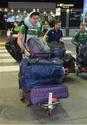 6 November 2017; Shane Walsh as the 2017 Ireland International Rules Squad arrive in Melbourne at Melbourne Airport, in Australia. Photo by Ray McManus/Sportsfile