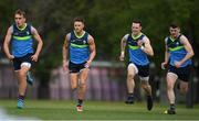 7 November 2017; Enda Smith, left, Eoin Cadogan, Niall Morgan and Brendan Harrison during Ireland International Rules squad training at Wesley College, St Kilda Road Complex, Melbourne, Australia. Photo by Ray McManus/Sportsfile