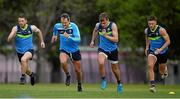 7 November 2017; Chris Barrett, left, Michael Murphy, Enda Smith and Eoin Cadogan, right, during Ireland International Rules squad training at Wesley College, St Kilda Road Complex, Melbourne, Australia. Photo by Ray McManus/Sportsfile