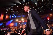 3 November 2017; Paul Geaney of Kerry walks up to receive their PwC All Star award during the PwC All Stars 2017 at the Convention Centre in Dublin. Photo by Brendan Moran/Sportsfile