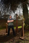 9 November 2017; Cian Healy after Ireland squad press conference at Carton House in Maynooth, Kildare. Photo by Matt Browne/Sportsfile