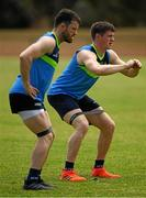 10  November 2017; Shane Walsh, right, and Chris Barrett during Ireland International Rules Squad training at the Gaelic Football and Hurling Association of South Australia, St. Mary's Park, Adelaide, Australia Photo by Ray McManus/Sportsfile