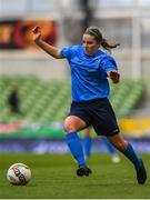 5 November 2017; Orlagh Nolan of UCD Waves during the Continental Tyres FAI Women's Cup Final match between Cork City WFC and UCD Waves at the Aviva Stadium in Dublin. Photo by Ramsey Cardy/Sportsfile