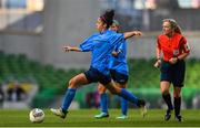 5 November 2017; Rebekah Carroll of UCD Waves during the Continental Tyres FAI Women's Cup Final match between Cork City WFC and UCD Waves at the Aviva Stadium in Dublin. Photo by Ramsey Cardy/Sportsfile