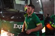 11 November 2017; Sean O'Brien of Ireland arrives prior to the Guinness Series International match between Ireland and South Africa at the Aviva Stadium in Dublin. Photo by Brendan Moran/Sportsfile