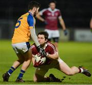 11 November 2017; Cormac O'Doherty of Slaughtneil in action against Ryan McHugh of Kilcar during the AIB Ulster GAA Football Senior Club Championship Semi-Final match between Kilcar and Slaughtneil at Healy Park in Omagh, Tyrone. Photo by Oliver McVeigh/Sportsfile