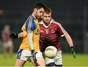 11 November 2017; Ryan McHugh of Kilcar in action against Francis McEldowney of Slaughtneil during the AIB Ulster GAA Football Senior Club Championship Semi-Final match between Kilcar and Slaughtneil at Healy Park in Omagh, Tyrone. Photo by Oliver McVeigh/Sportsfile