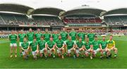 12 November 2017; The Ireland squad before the Virgin Australia International Rules Series 1st test at the Adelaide Oval in Adelaide, Australia. Photo by Ray McManus/Sportsfile