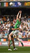12 November 2017; Conor McManus of Ireland in action against Neville Jetta of Australia during the Virgin Australia International Rules Series 1st test at the Adelaide Oval in Adelaide, Australia. Photo by Ray McManus/Sportsfile