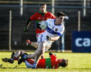 12 November 2017; Diarmuid Connolly of St Vincent's in action against Damien Power of Rathnew during the AIB Leinster GAA Football Senior Club Championship Quarter-Final match between Rathnew and St Vincent's at Joule Park in Aughrim, Wicklow. Photo by Matt Browne/Sportsfile