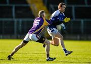 12 November 2017; Niall Smyth of Cavan Gaels in action against Neil Gallagher of Derrygonnelly Harps during the AIB Ulster GAA Football Senior Club Championship Semi-Final match between Cavan Gaels and Derrygonnelly Harps at St Tiernach's Park in Clones, Monaghan. Photo by Oliver McVeigh/Sportsfile