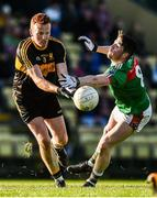 12 November 2017; Johnny Buckley of Dr Crokes in action against Keelan Sexton of Kilmurry-Ibrickane during the AIB Munster GAA Football Senior Club Championship Semi-Final match between Dr Crokes and Kilmurry-Ibrickane at Dr. Crokes GAA pitch in Lewis Road, Killarney, Kerry. Photo by Diarmuid Greene/Sportsfile