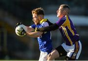 12 November 2017; Andrew Graham of Cavan Gaels in action against Neil Gallagher of Derrygonnelly Harps during the AIB Ulster GAA Football Senior Club Championship Semi-Final match between Cavan Gaels and Derrygonnelly Harps at St Tiernach's Park in Clones, Monaghan. Photo by Oliver McVeigh/Sportsfile