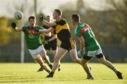 12 November 2017; Colm Cooper of Dr Crokes in action against Keelan Sexton, left, Shane Hickey of Kilmurry-Ibrickane during the AIB Munster GAA Football Senior Club Championship Semi-Final match between Dr Crokes and Kilmurry-Ibrickane at Dr. Crokes GAA pitch in Lewis Road, Killarney, Kerry. Photo by Diarmuid Greene/Sportsfile