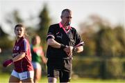 12 November 2017; Referee Niall McCormack during the All Ireland U21 Ladies Football Final match between Mayo and Galway at St. Croans GAA Club in Keelty, Roscommon. Photo by Sam Barnes/Sportsfile