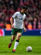 11 November 2017; Shane Long of Republic of Ireland during the FIFA 2018 World Cup Qualifier Play-off 1st Leg match between Denmark and Republic of Ireland at Parken Stadium in Copenhagen, Denmark. Photo by Seb Daly/Sportsfile