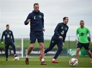 13 November 2017; David Meyler during Republic of Ireland squad training at the FAI National Training Centre in Abbotstown, Dublin. Photo by Stephen McCarthy/Sportsfile