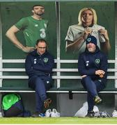 13 November 2017; Republic of Ireland manager Martin O'Neill and assistant Roy Keane, right, during squad training at the FAI National Training Centre in Abbotstown, Dublin. Photo by Stephen McCarthy/Sportsfile