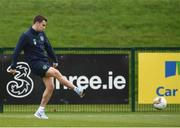 13 November 2017; Seamus Coleman during Republic of Ireland squad training at the FAI National Training Centre in Abbotstown, Dublin. Photo by Stephen McCarthy/Sportsfile