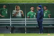 13 November 2017; Republic of Ireland assistant manager Roy Keane during Republic of Ireland squad training at the FAI National Training Centre in Abbotstown, Dublin. Photo by Stephen McCarthy/Sportsfile