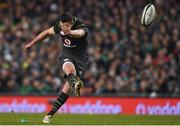 11 November 2017; Jonathan Sexton of Ireland during the Guinness Series International match between Ireland and South Africa at the Aviva Stadium in Dublin. Photo by Eóin Noonan/Sportsfile