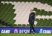 13 November 2017; Denmark manager Aage Hareide during squad training at Aviva Stadium in Dublin. Photo by Stephen McCarthy/Sportsfile