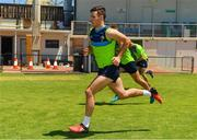14 November 2017; Niall Murphy during a fitness test at the Ireland International Rules Squad training at Bendigo Bank Stadium, Mandurah, Australia. Photo by Ray McManus/Sportsfile